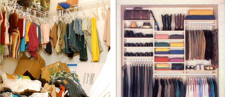Come ti organizza l'armadio Giulia!